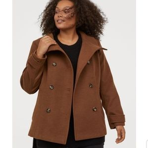 H&M Double-breasted pea coat